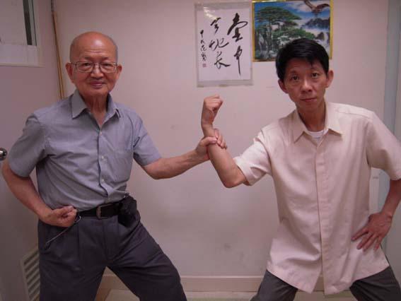 洪敦耕老師と廖赤陽先生